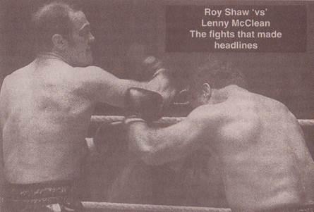 Lenny McLean vs Roy Shaw